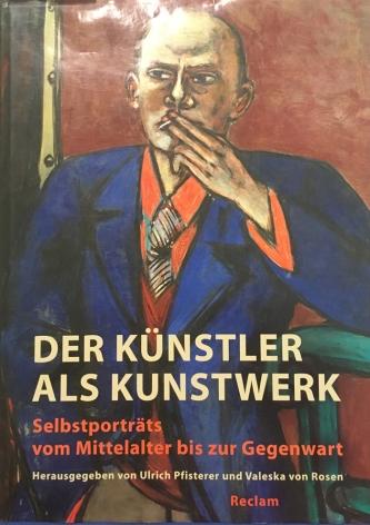 Künstler-Kunstwerk-Selbstportrait